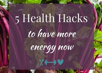 5 Hacks to Get More Energy Now