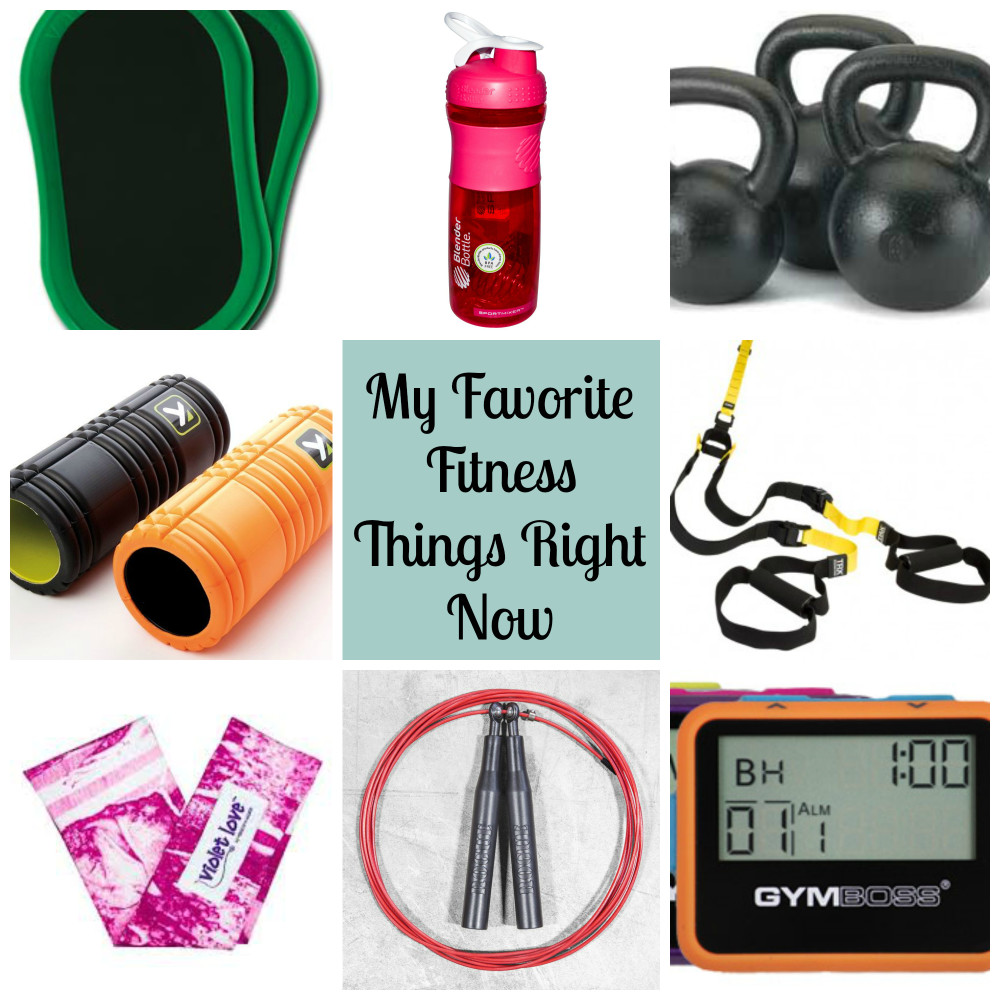 My Favorite Fitness Things Right Now