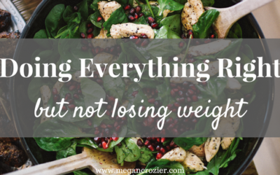 """Doing """"everything right"""" but not losing weight"""